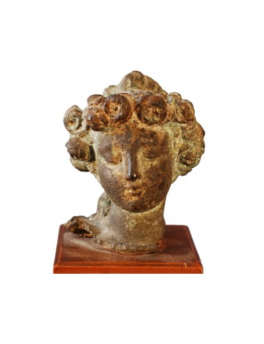 An Antique head of Flora
