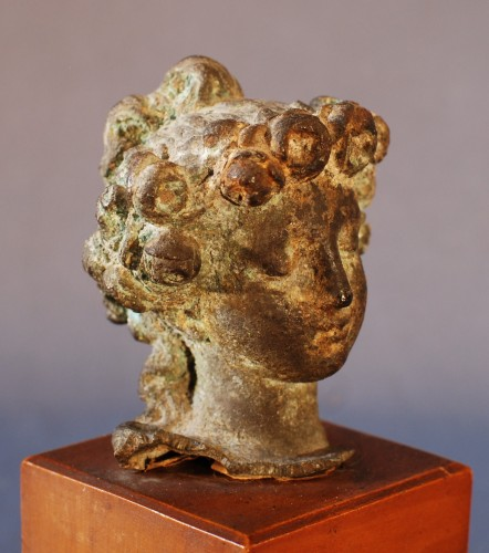 An Antique head of Flora - Ancient Art & Antiquities Style
