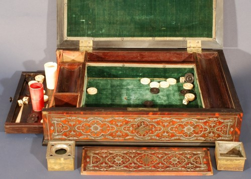 Decorative Objects  - A Louis XIV Boulle box