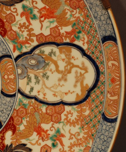 Asian Art & Antiques  - Large dish Imari 19th century
