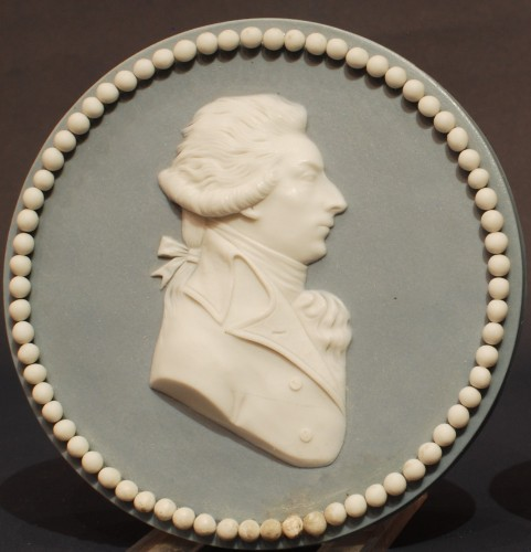 Porcelain & Faience  - A french late 18th century pair of Sèvres medallions