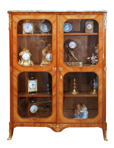 A french Transition Louis XV Louis XVI bookcase