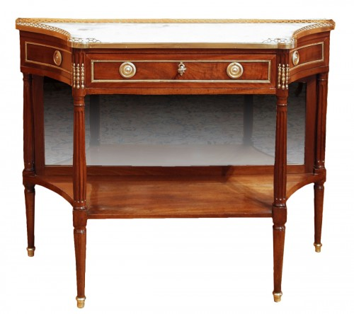 A french Louis XVI mahogany console