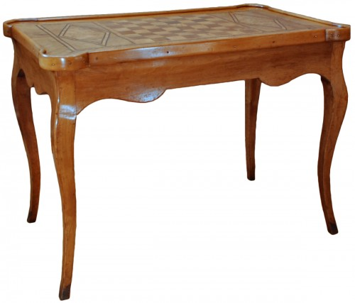 A french Louis XV game table