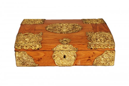 A french Louis XIV kingwood box