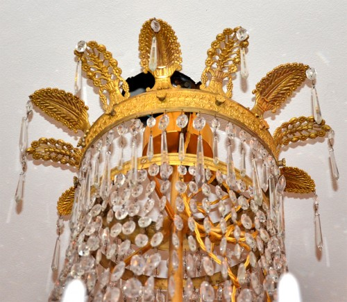 19th century - Large Empire period chandelier