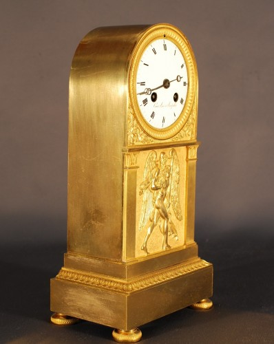 A french Empire period clock -