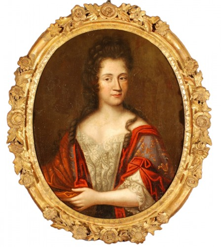 Portrait of a Lady of quality end of 17th century