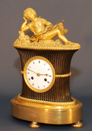 Horology  - A French Directoire clock