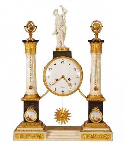 A large french Louis XVI period clock