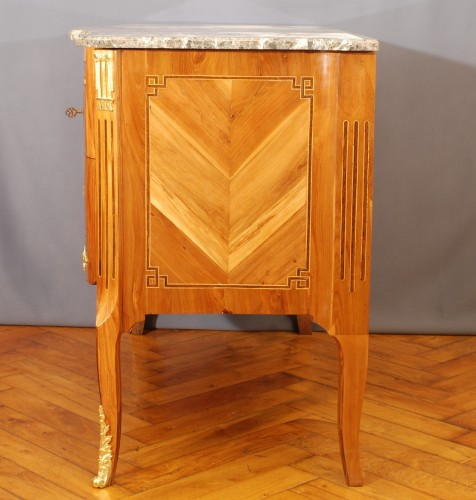 A french Transition Commode 18th century -