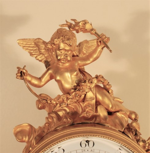 A late 19th century clock signed Lépine - Horology Style Napoléon III