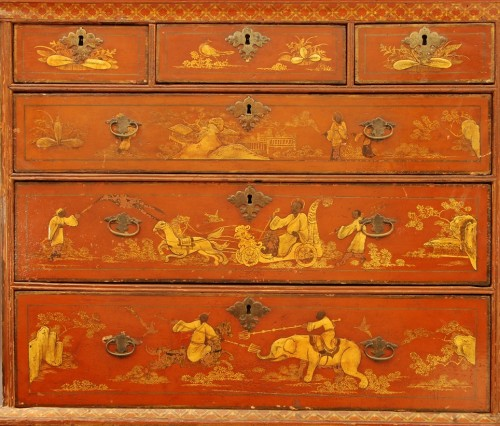 Antiquités - A late 17th century english Cabinet