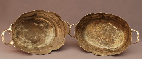 Decorative Objects  - Pair of french wineglass cooler  Louis XV period