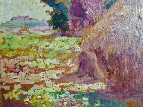 Luce Maximilien (1858-1941) - Haystack - Paintings & Drawings Style Art nouveau
