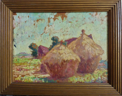 Paintings & Drawings  - Luce Maximilien (1858-1941) - Haystack