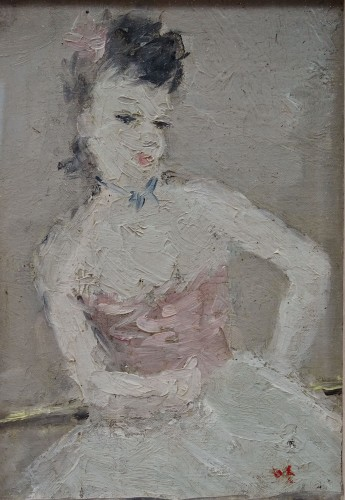 Dietz Edzard (1893-1963) - The ballerina - Paintings & Drawings Style