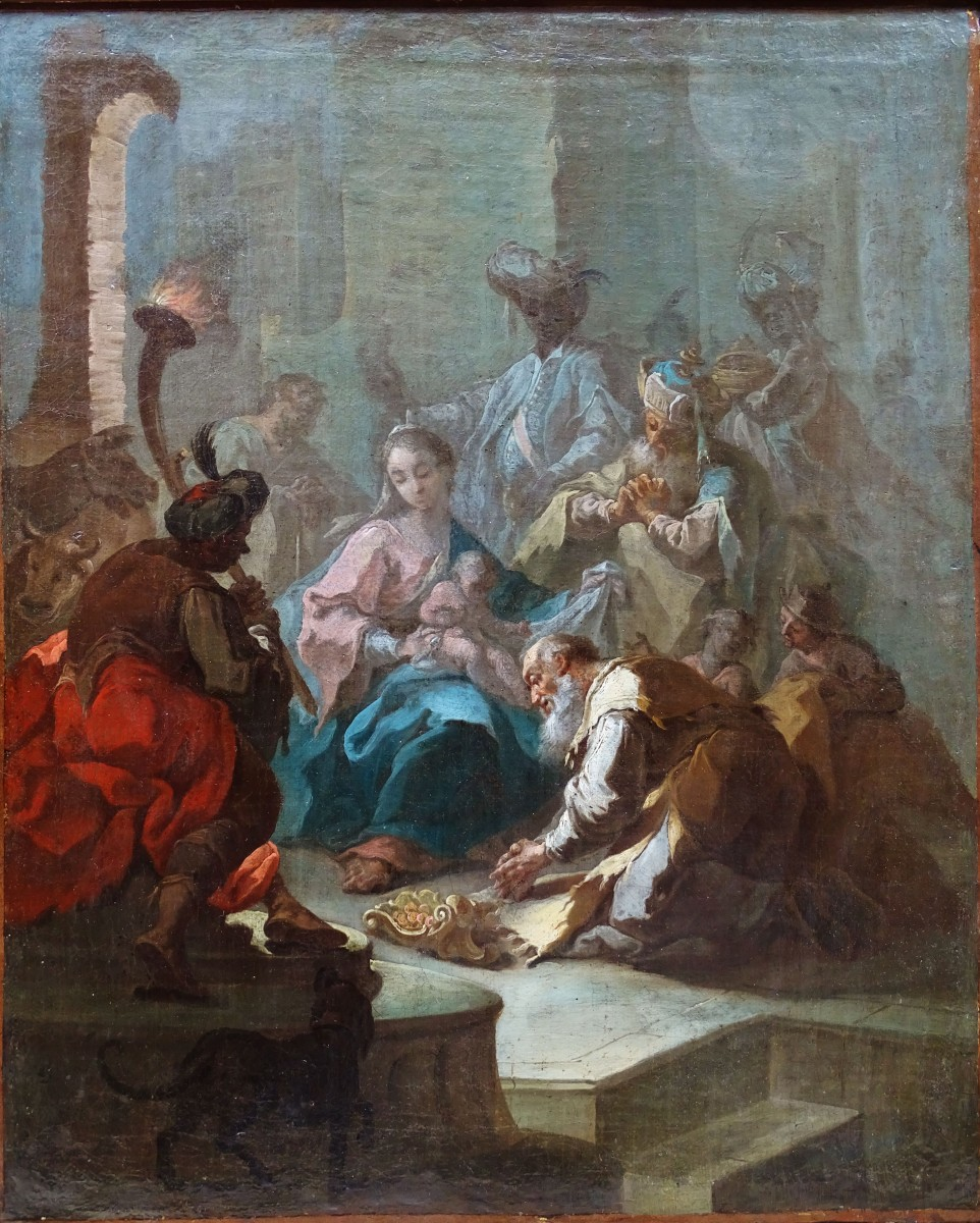 Giovanni Battista Pittoni (1687-1767) - The Three Kings