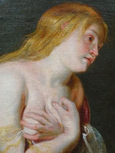 Study for a Saint Madeleine - Rubens Workshop -