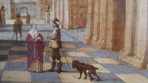 Paintings & Drawings  - Jan Juriaensz van Baden (1604-1677) - Church interior