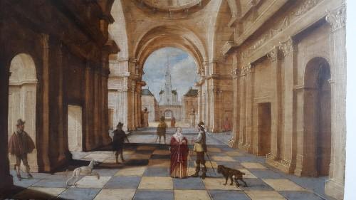Jan Juriaensz van Baden (1604-1677) - Church interior -