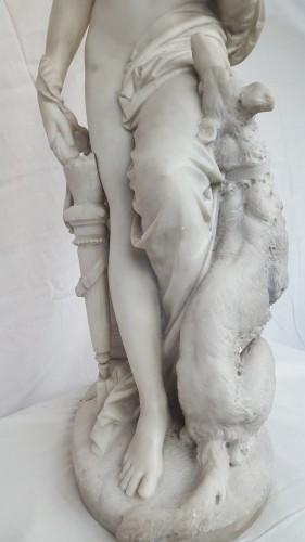 19th century - Albert-Ernest Carrier-Belleuse (1824-18887) - Diana the huntress