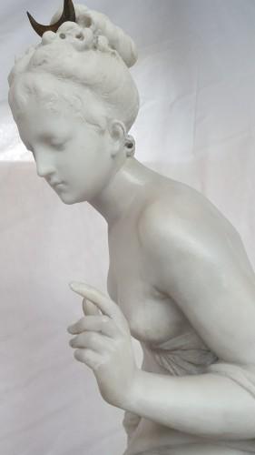 Napoléon III - Albert-Ernest Carrier-Belleuse (1824-18887) - Diana the huntress