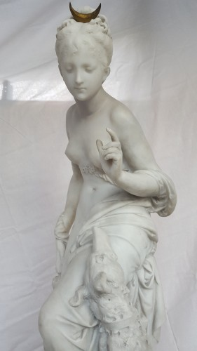 Antiquités - Albert-Ernest Carrier-Belleuse (1824-18887) - Diana the huntress