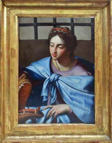 Saint Margaret - attributed to Simon Vouet