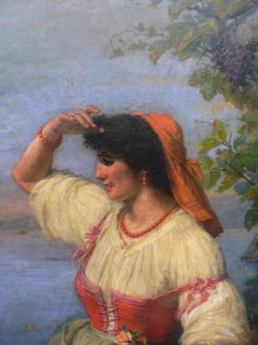 Paintings & Drawings  - William Travers - The Neapolitan