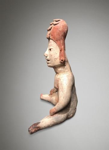<= 16th century - Seated figure - Olmec
