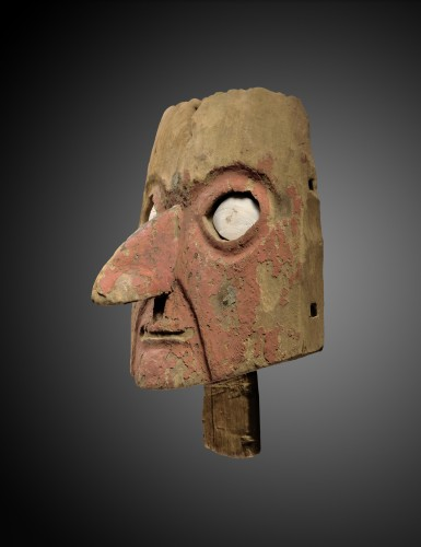 Mask for funerary bundle - Chancay - Ancient Art Style