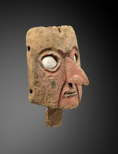 Ancient Art  - Mask for funerary bundle - Chancay