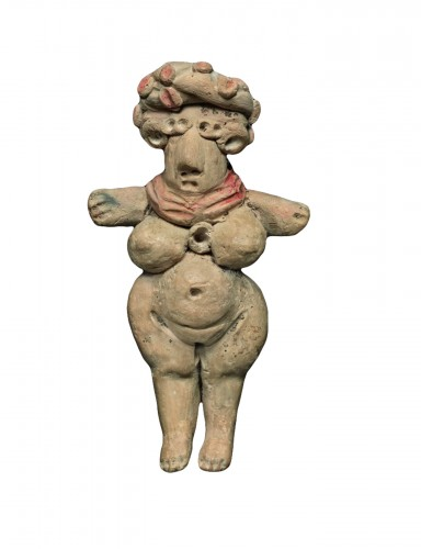 Pregnant standing woman - Michoacan