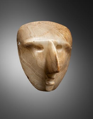 Ancient Art  - Mask representing a human face - Sultepec