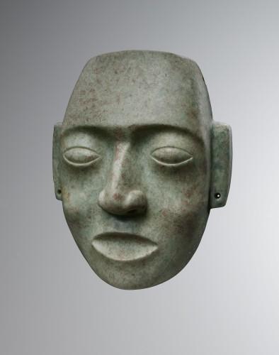Mask representing a human face - Maya - Ancient Art Style