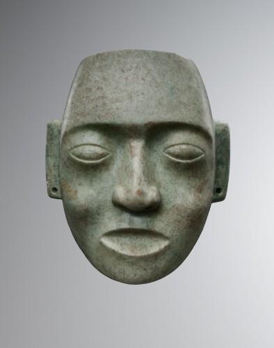 Mask representing a human face - Maya -