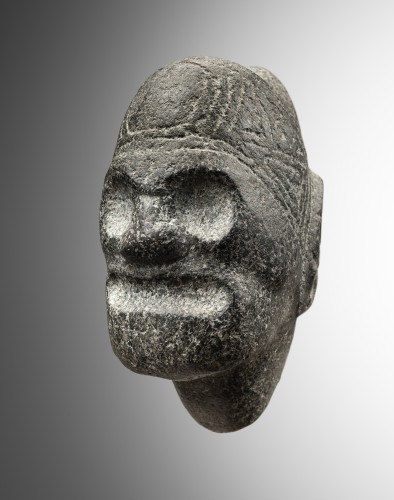 Zemi - Head Of Macoris - Taïno - Ancient Art Style