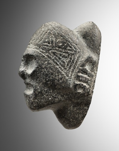 Ancient Art  - Zemi - Head Of Macoris - Taïno