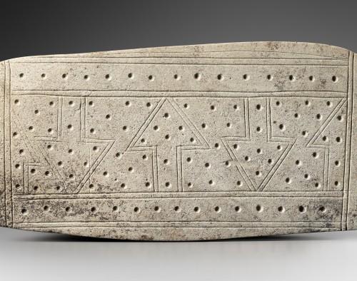 Ceremonial stele, cosmogram - Valdivia - Ancient Art Style
