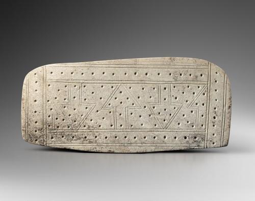 Ancient Art  - Ceremonial stele, cosmogram - Valdivia