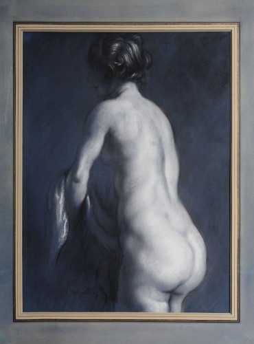 Nude from back side - Louis ANQUETIN (1861-1932)