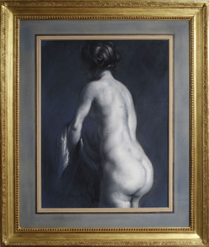 Nude from back side - Louis ANQUETIN (1861-1932) - Paintings & Drawings Style Art nouveau