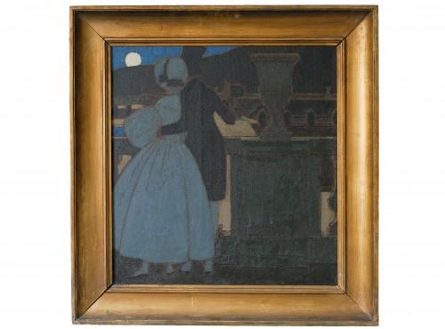 Moonlight in Versailles - Boutet de Monvel (1881-1949)