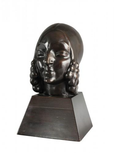 Jeune fille aux anglaises - Léon Indenbaum (1890-1981)