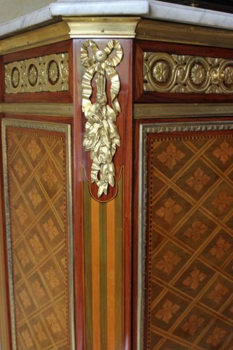 French Louis XVI secretaire stamped DESTER - Furniture Style Louis XVI