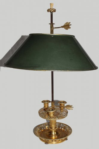 Antique lamp Directoire period