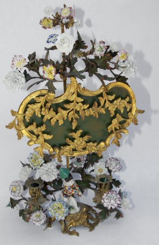 "Louis XV screen lamp said ""à écran"""