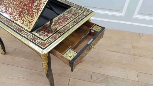 Furniture  - French Louis XIV Boulle marquetry liseuse table