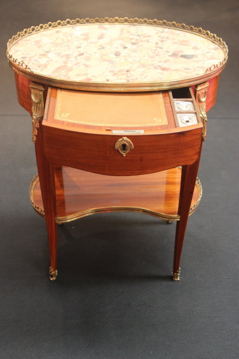 Antique french louis xv writing table - Table louis xv ...